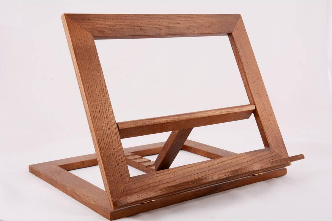 Leggio da tavolo in legno  cm 32x27