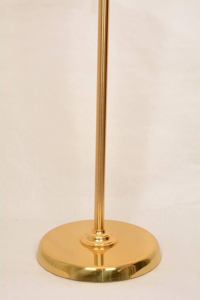 Croce astile in bronzo bicolore GALF3056