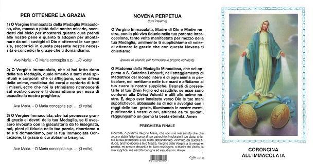 Coroncina all'Immacolata (100 pz)