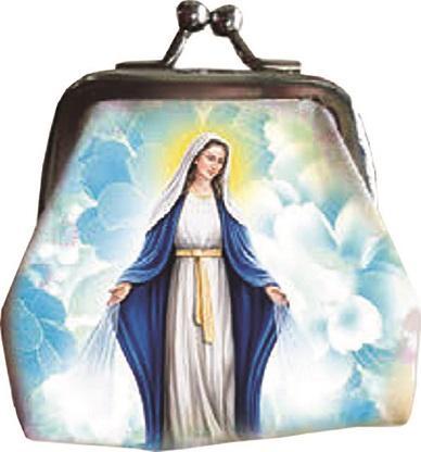 Borsellino con rosario Madonna Immacolata