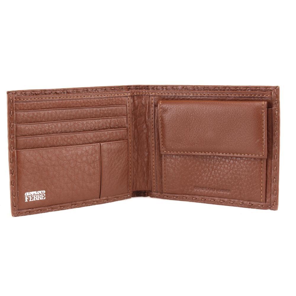 Man wallet Gianfranco Ferrè  021 003 45 004 Terracotta