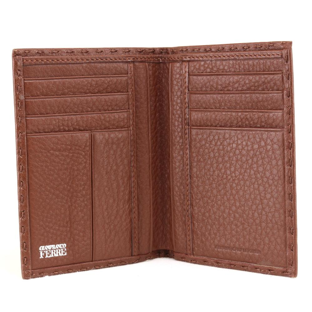 Man wallet Gianfranco Ferrè  021 003 704 004 Terracotta