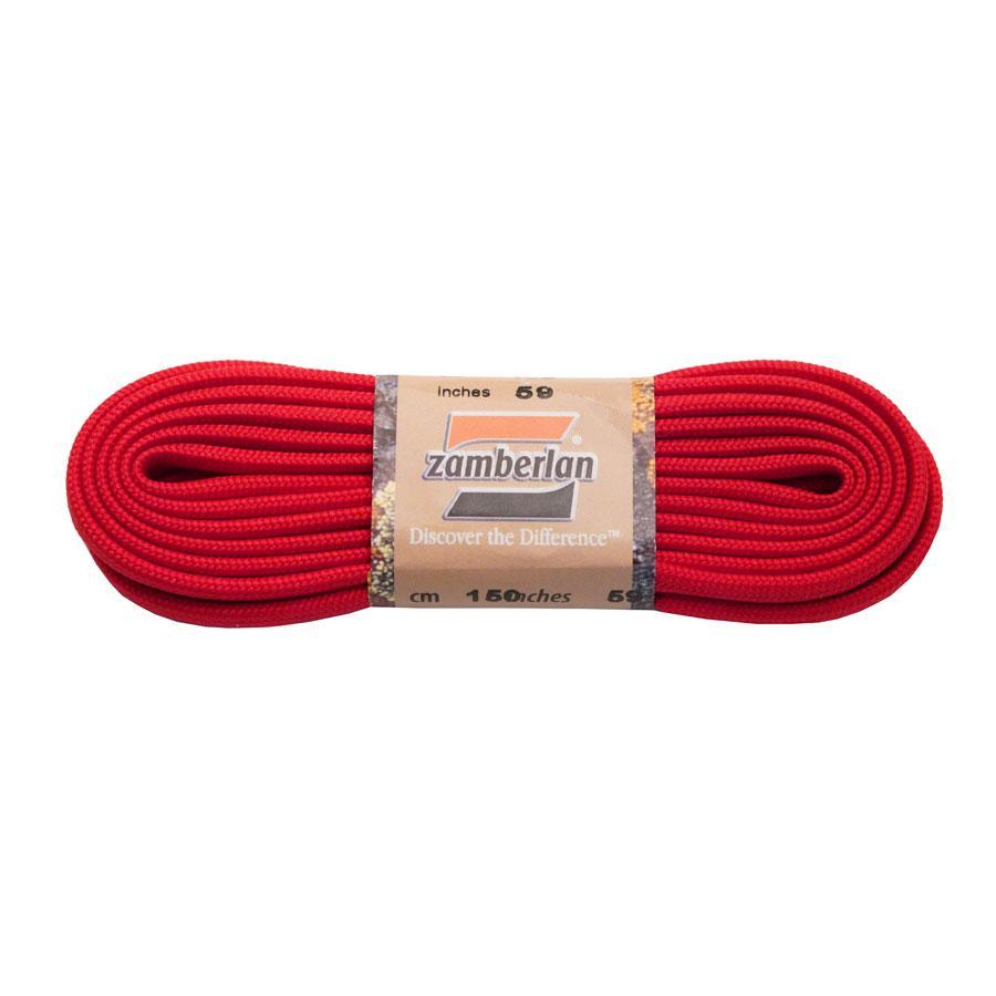 ZAMBERLAN® REPLACEMENT FLAT LACES   -   Red