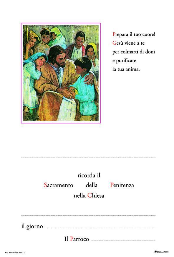 Pergamena Penitenza