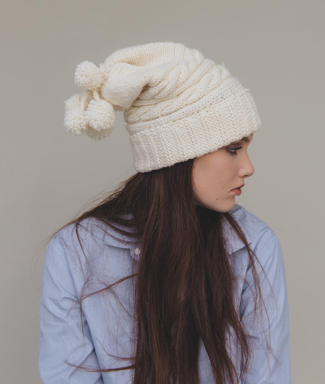 Scarves and Snoods - WoolHats and Beanies - Wool - LOVE GRAMMAR HAT - 1