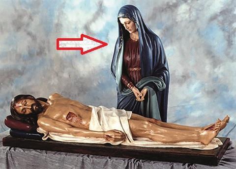 Madonna Addolorata cm. 170