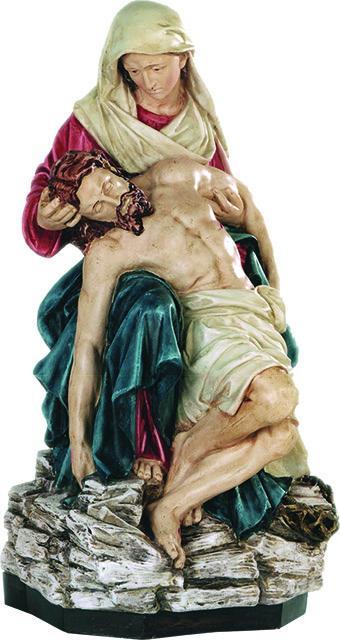 Pietà in resina cm. 63