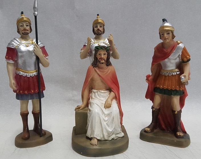 Incoronazione di Gesù (4 pz)