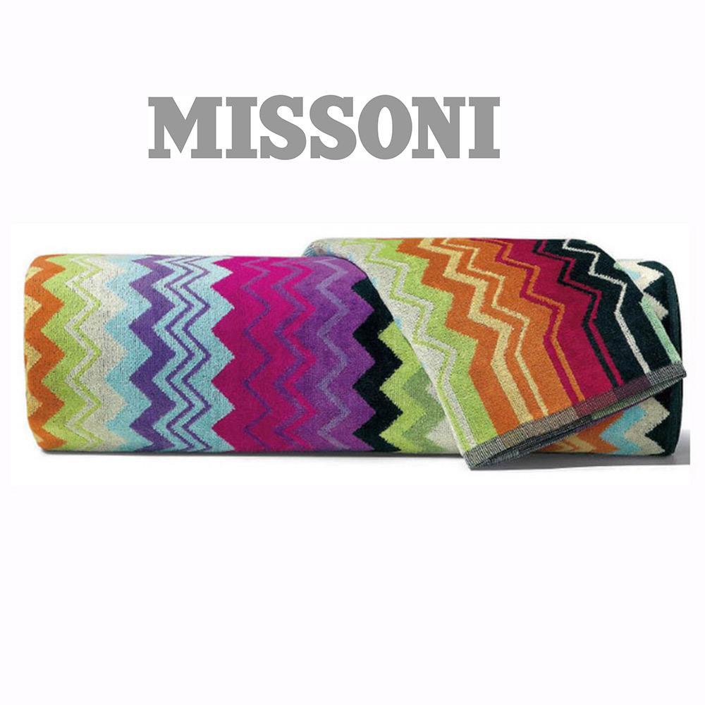 Missoni Home Set Asciugamani - 1 asciugamano + 1 ospite zig zag GIACOMO T59