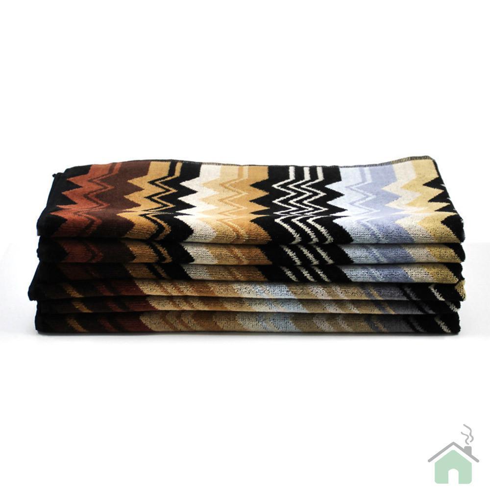 Missoni Home Bagno Set 1 asciugamano + 1 ospite GIACOMO 160 zigzag