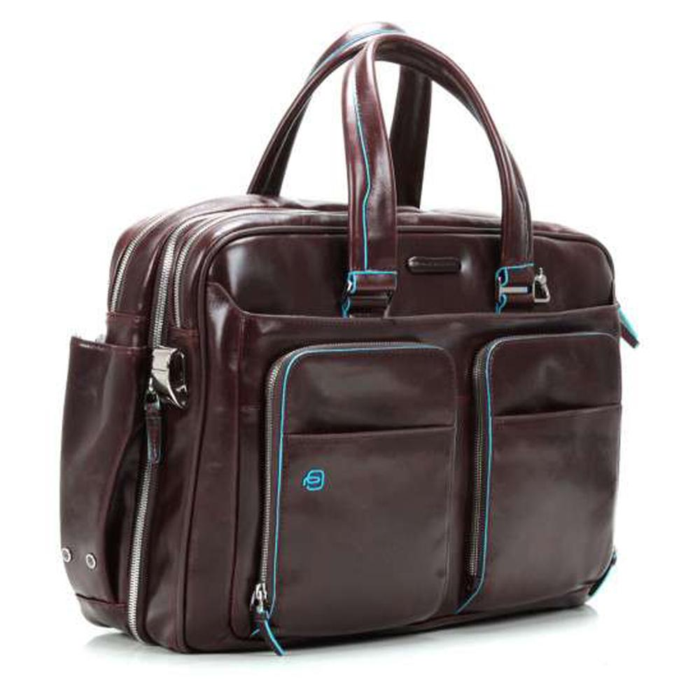 Sac business Piquadro Blue square CA2765B2 MOGANO