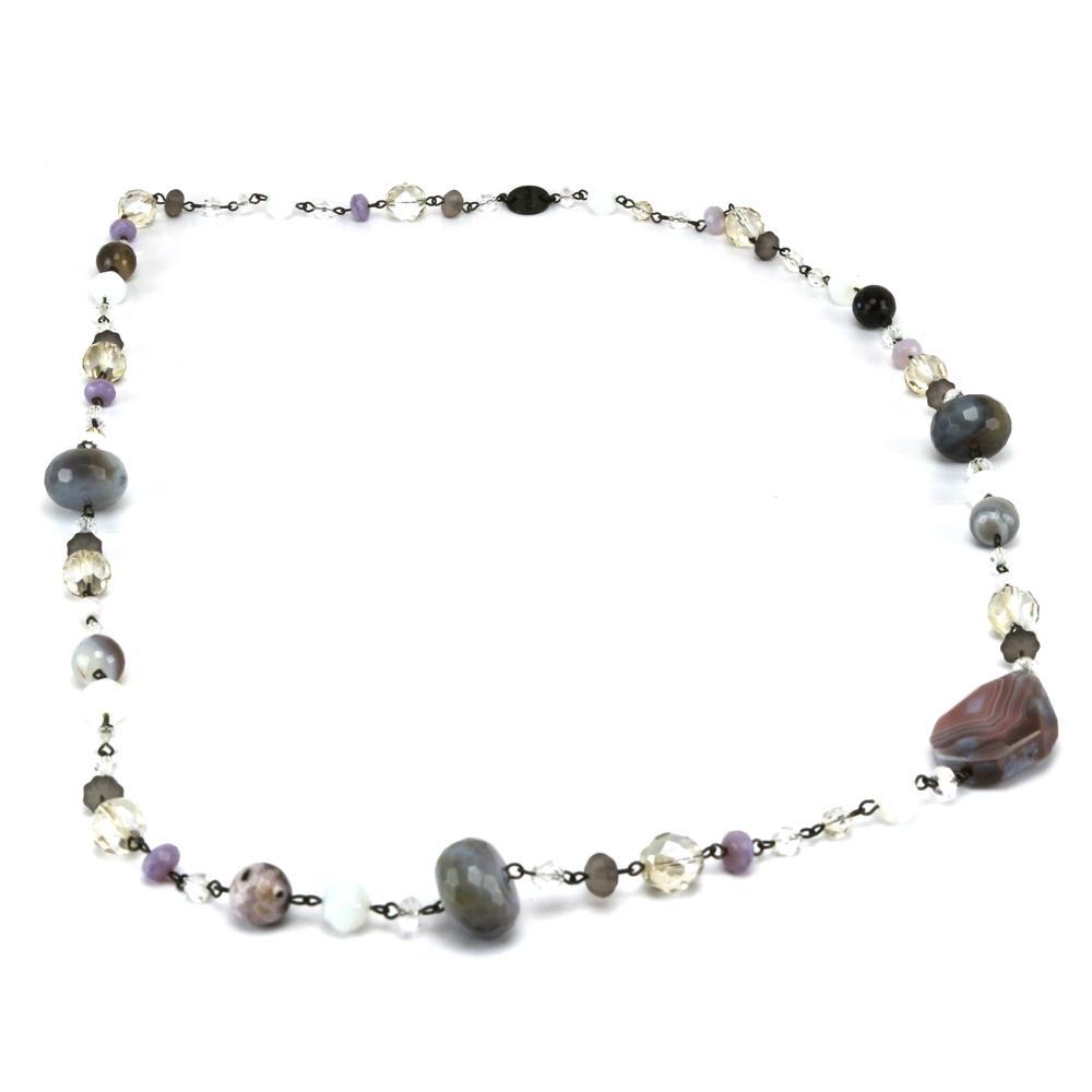 Necklace  Furla Ninfea 185690 Toni grigio