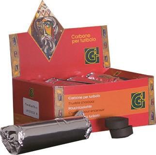 Carboncini scatola rossa (100 pz)