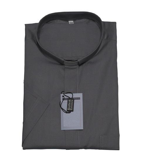 Camicia clergy fil a fil - manica lunga