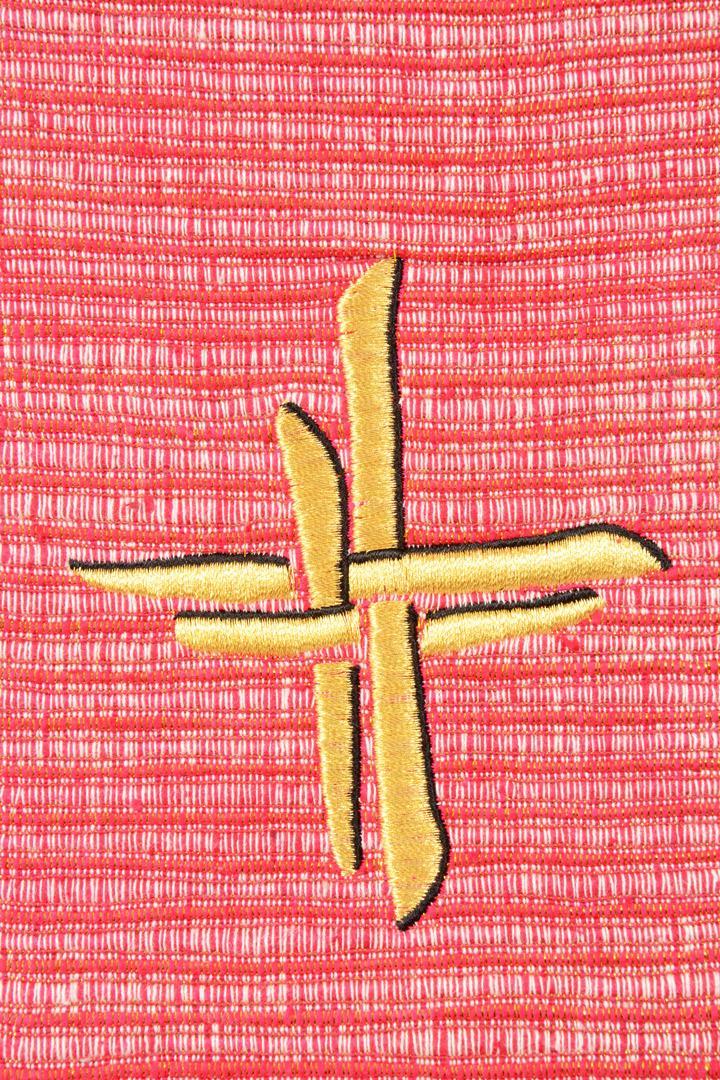 Stola S58 M2 Croce intreccio Rossa