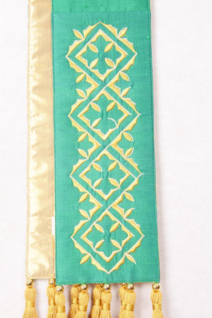 Stola SB118 M1 Verde - Pura Seta