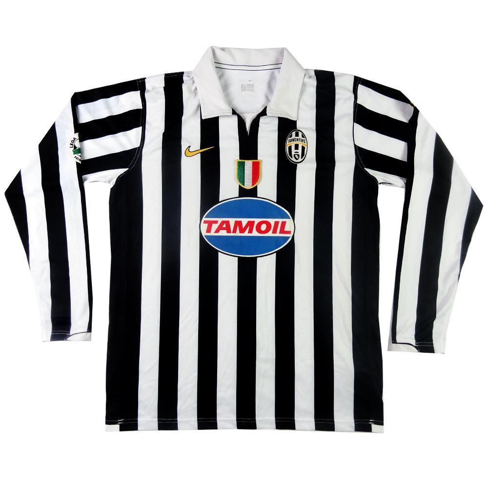 2006-07 Juventus Maglia Home Match Worn #9 Primavera L
