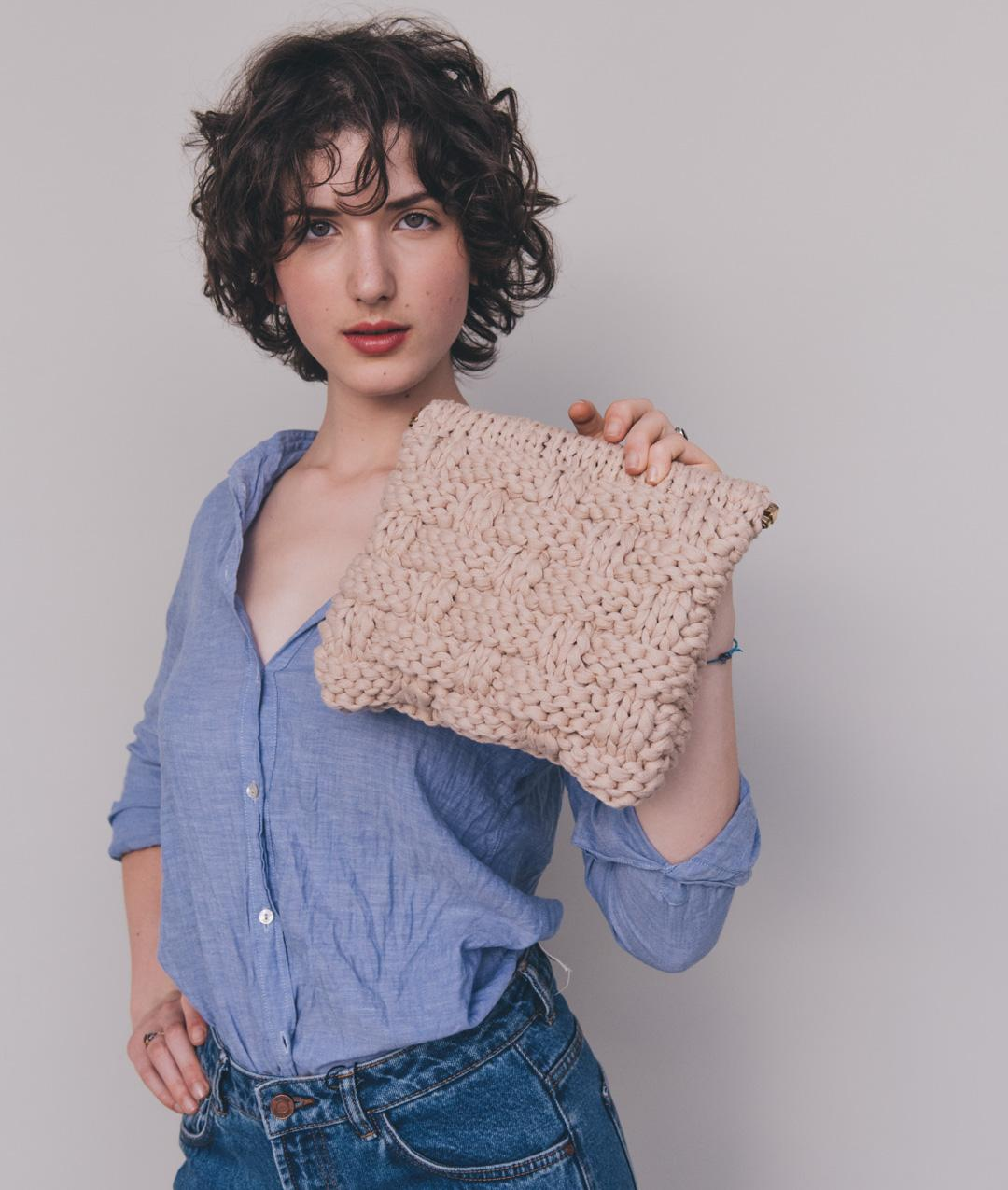 Bags  - Cotton - DANDELION CLUTCH - 1