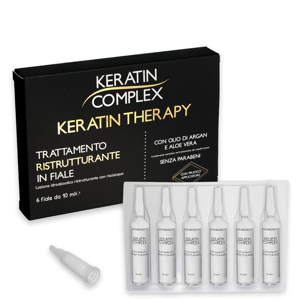 Keratin complex trattamento ristrutturante 6 fiale da 10 ml