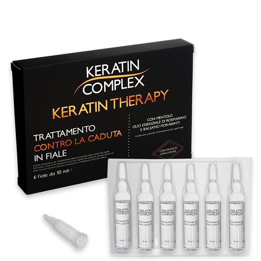 Keratin complex- trattamento anticaduta in fiale