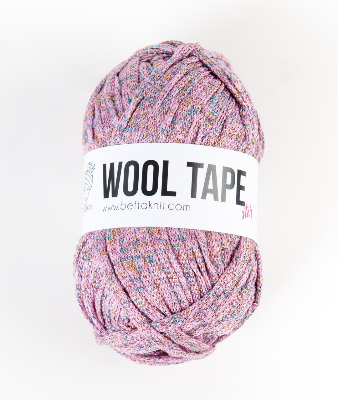 Lurex - Lana - Wool Tape Star - 1