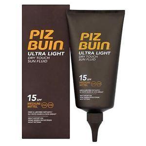 Piz Buin Ultra Light Dry Touch Sun Fluid SPF 15 150 ML