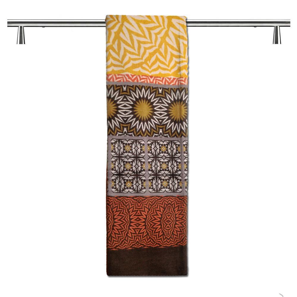 Telo mare in spugna Bassetti Granfoulard 90x180 cm EBANO 9 marrone