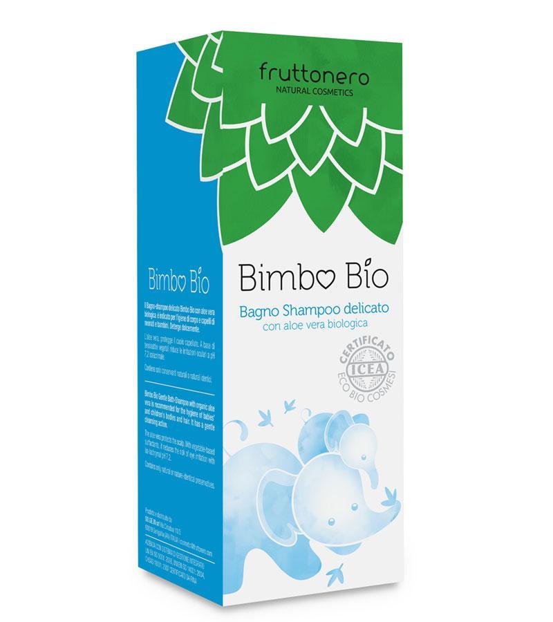 BATH SHAMPOO DELICATE with organic aloe vera