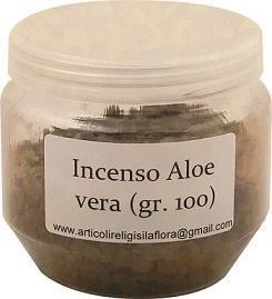 Incenso Aloe vera (gr. 100)