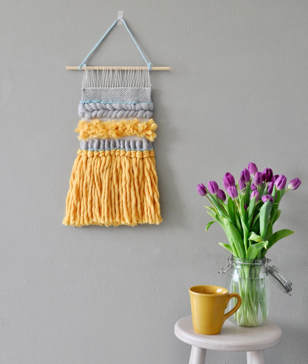 Weaving KitS - MIXED FLAVOURS WALL HANGING - 1