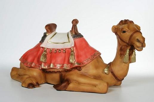 Cammello seduto - presepio cm. 65