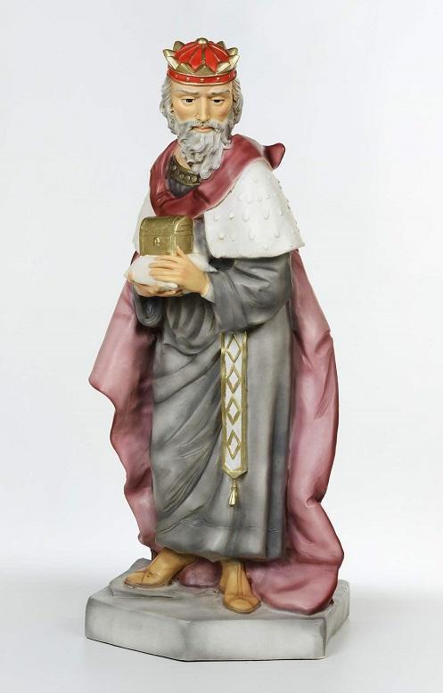 Re Magio bianco - presepio cm. 65