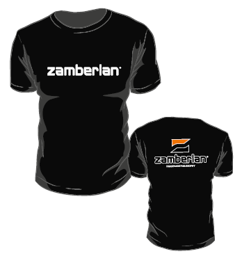 ZAMBERLAN® T SHIRT - Black