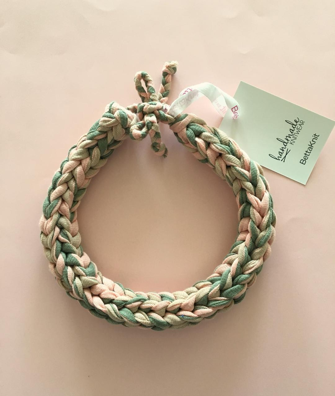 - Milan Necklace - Olive Shades - 1