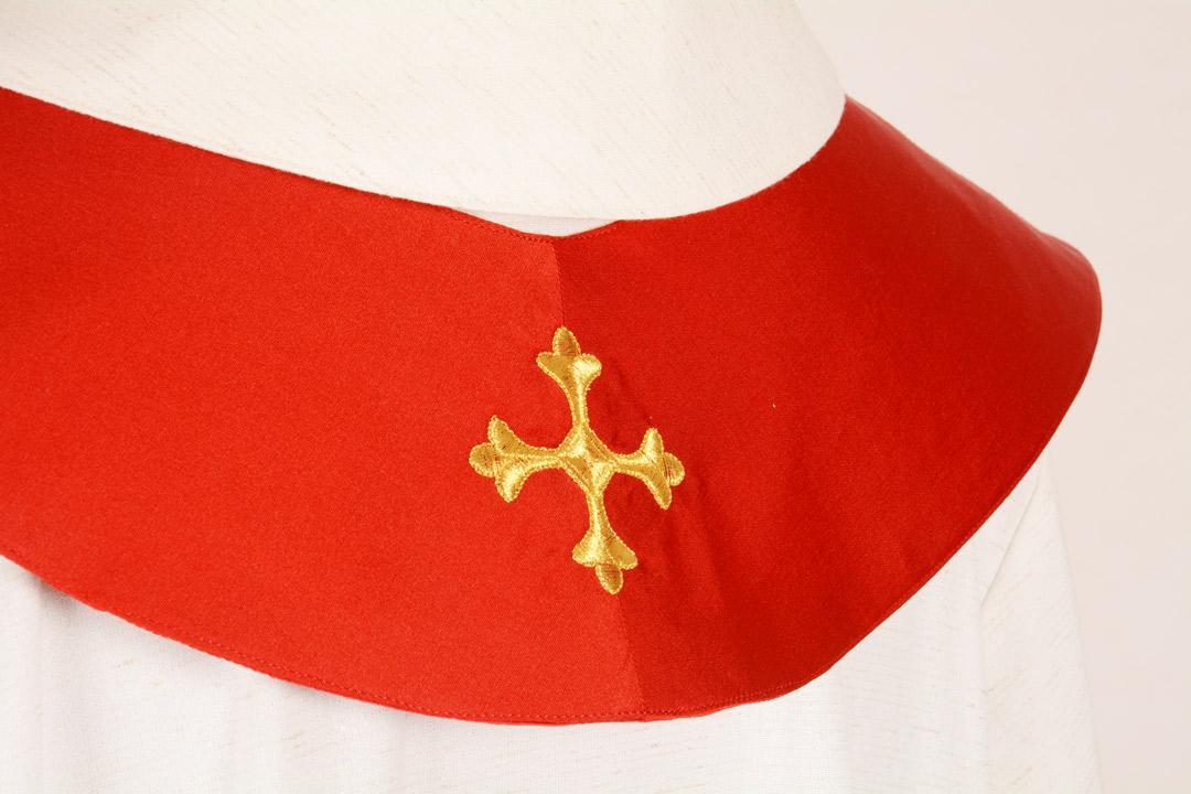 Stola S9 M1 Rossa - Faille Misto Lana