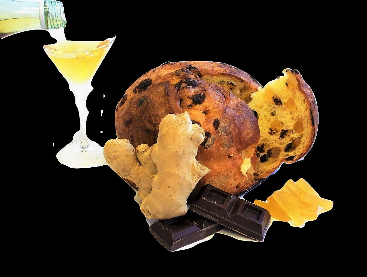 PANCIÜC ZENZERO E CIOCCOLATO imbibito con liquore alla vaniglia