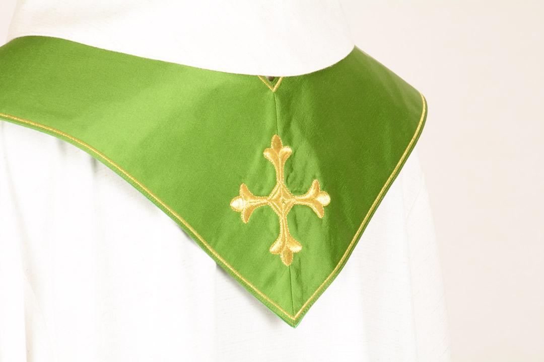 Stola S20 M0 Verde - Faille Misto Lana