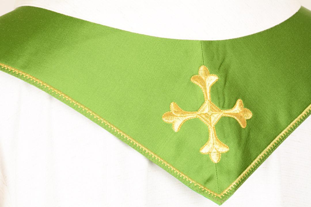Stola S9 M0 Verde - Faille Misto Lana