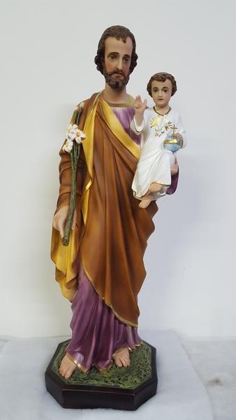 S. Giuseppe in resina cm. 85
