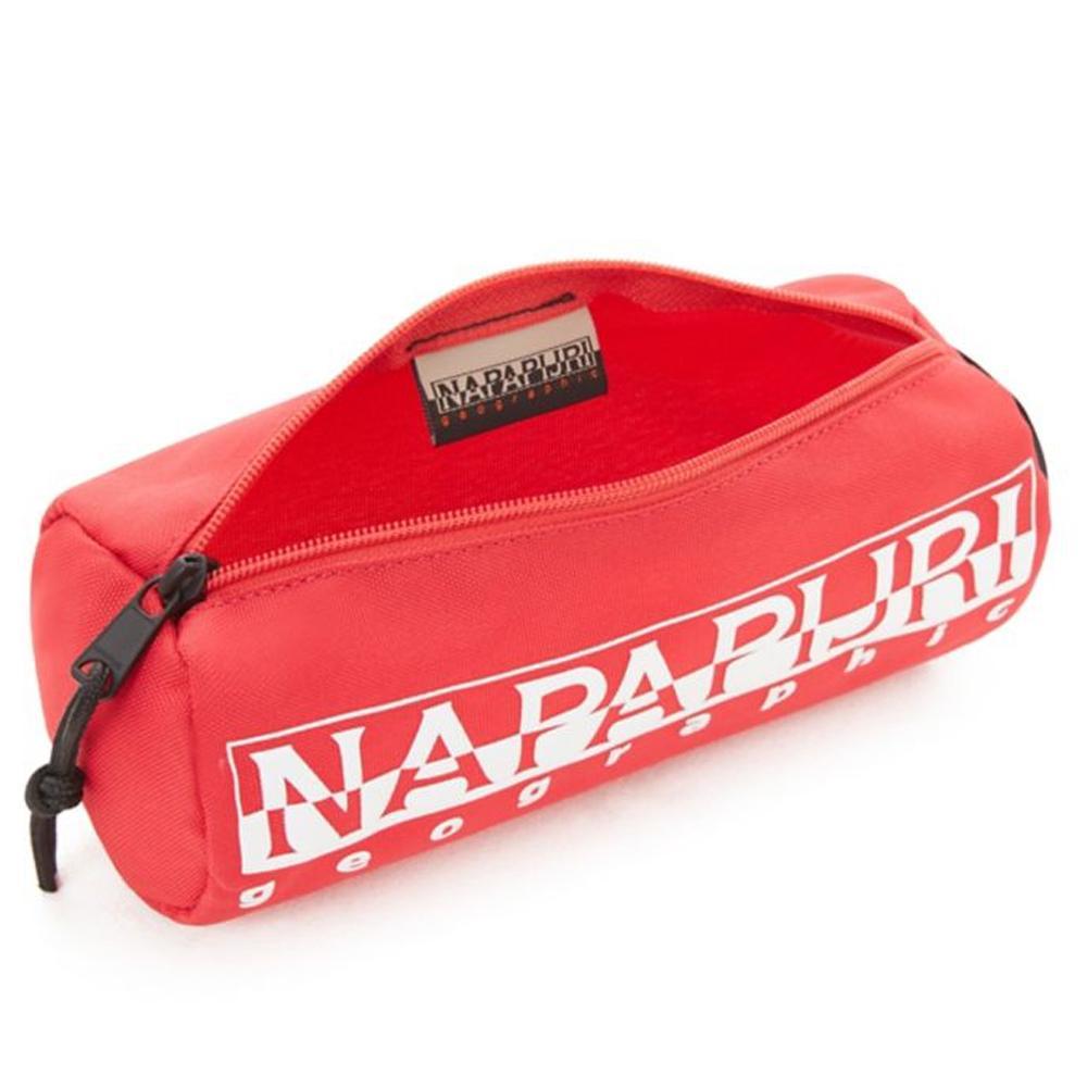 Porta oggetti Napapijri HAPPY PENCIL CASE 1 N0YI0I R70 TRUE RED
