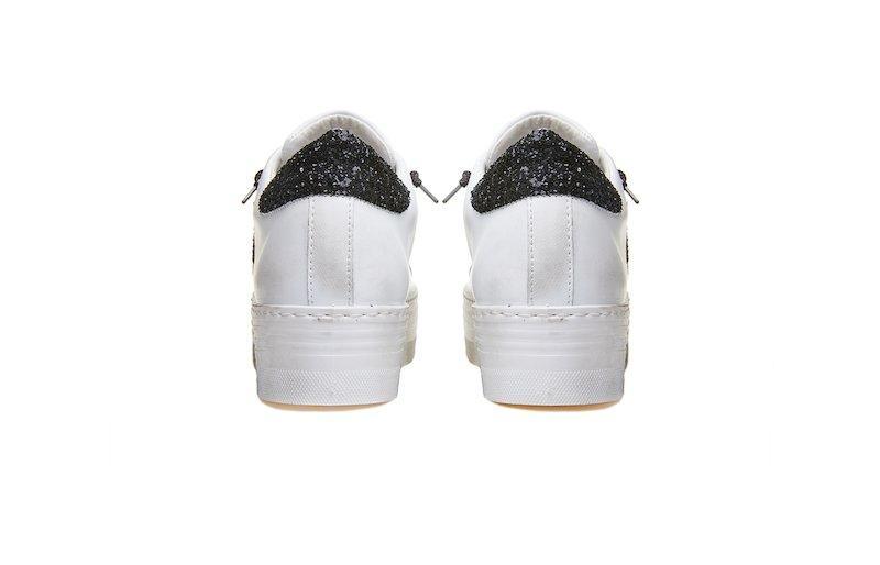 Sneaker para high donna 2Star bianca