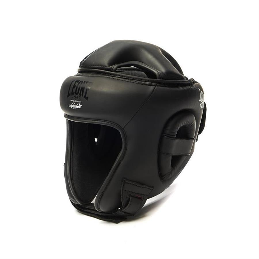 LEONE CASCO BLACK EDITION 2.0 NERO MOD. CS431