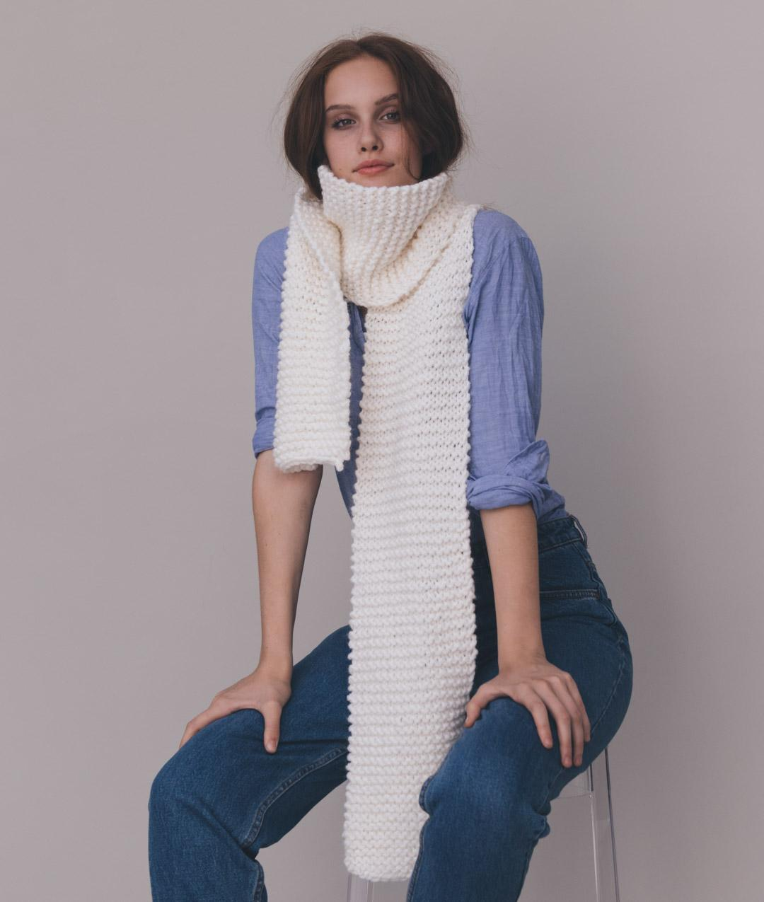 Scarves and Snoods - Scarves and Snoods -  - NAIMI SCARF - 1