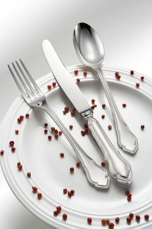 Cucchiaio frutta stile 700 epns argentato argento