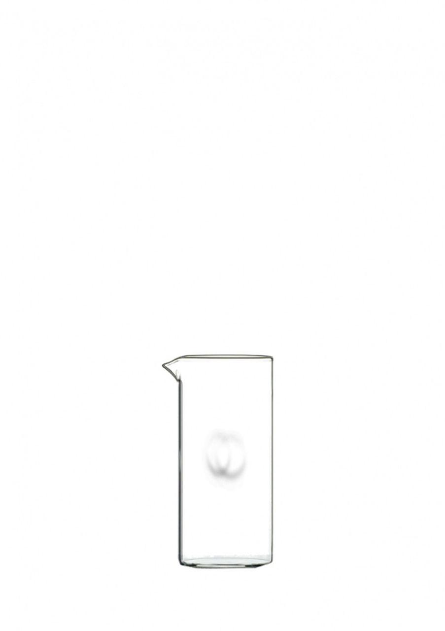 Caraffa in vetro senza manico ml 250 cm.13,5h diam.6