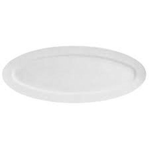 Piatto ovale pesce porcellana
