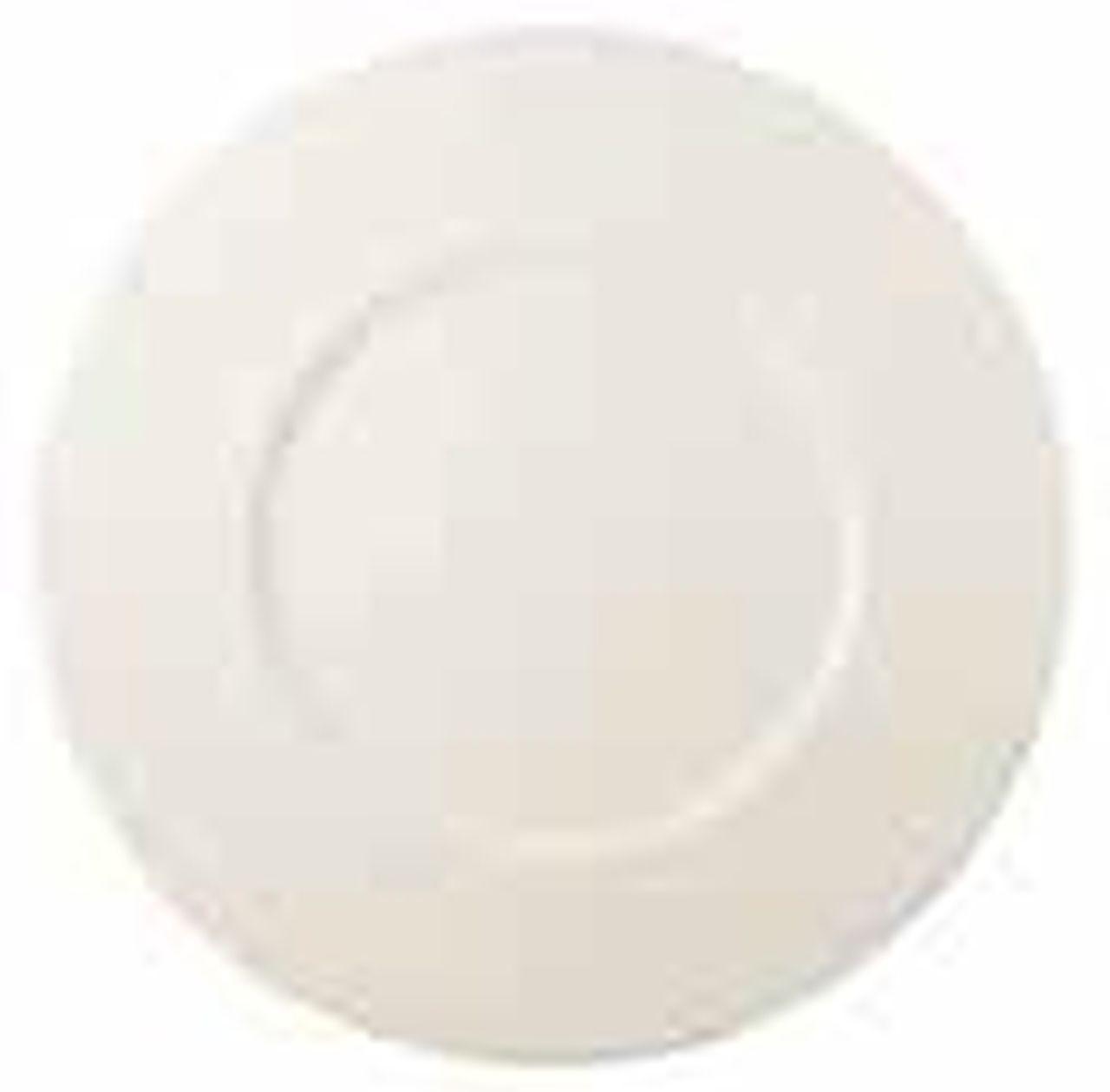 Piatto da tavola piano in porcellana stile New Bone Gourmet cm.diam.32