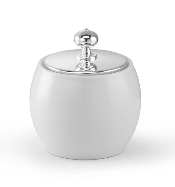 Cremiera coperchio argentato argento sheffield cm.9h