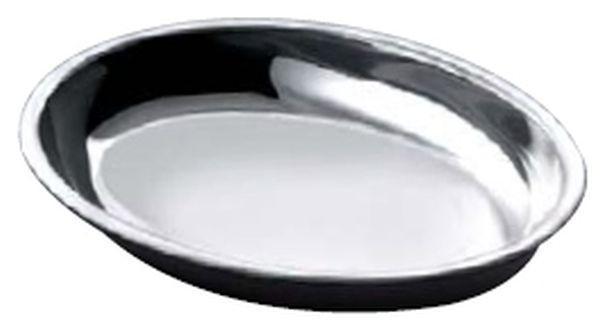 Legumiera ovale in acciaio