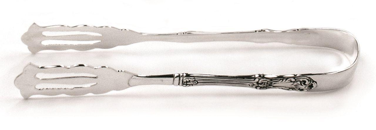Pinza dolce stile cesellato argentato argento sheffield